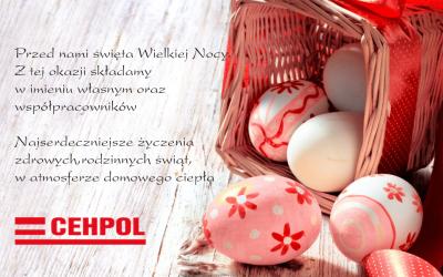 Najserdeczniejsze Życzenia z okazji Świąt Wielkanocnych.