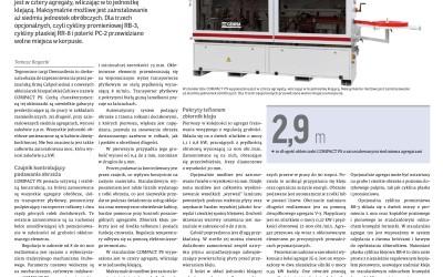 Wysoka jakość z kompaktowej maszyny – CEHISA COMPACT-PS