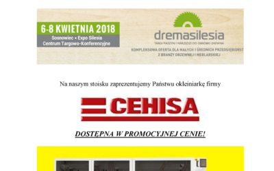 ZAPRASZAMY NA TARGI DREMASILESIA 2018 w dniach 06-.08.04.2018 w Sosnowcu.